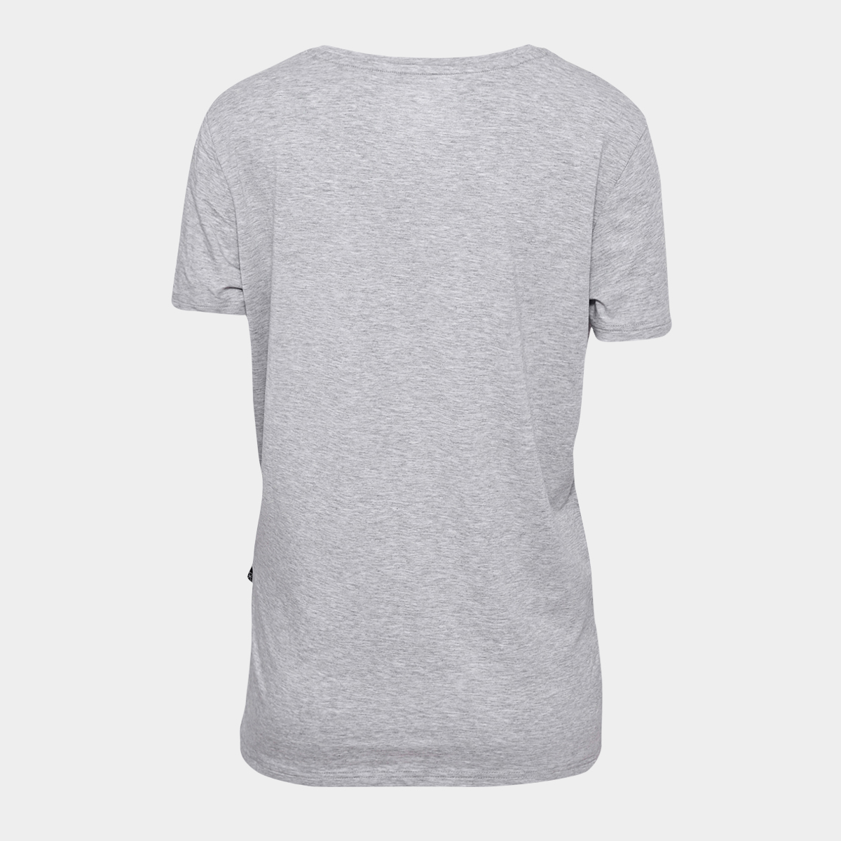 Grå basic bambus t shirt
