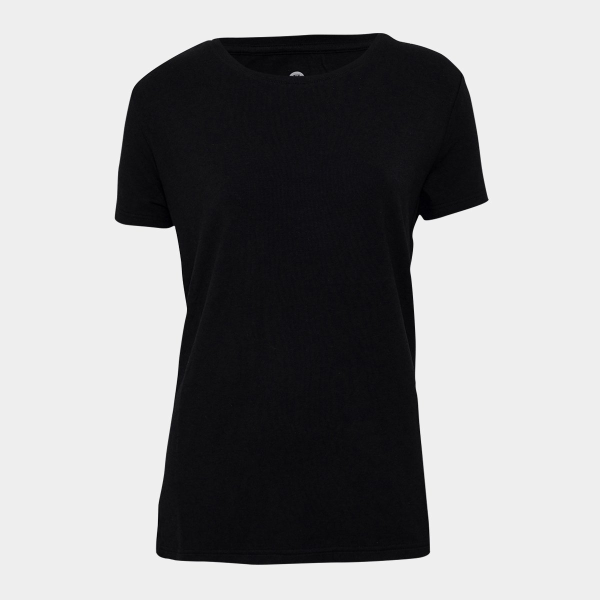 Sort Basic Bambus T shirt