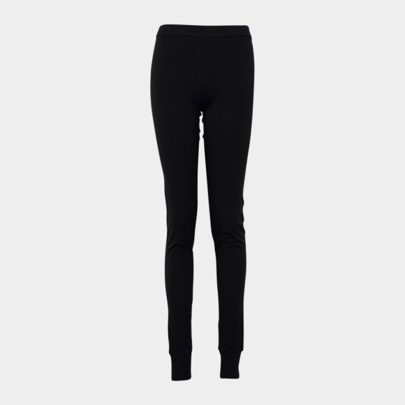 Sorte bambus leggings