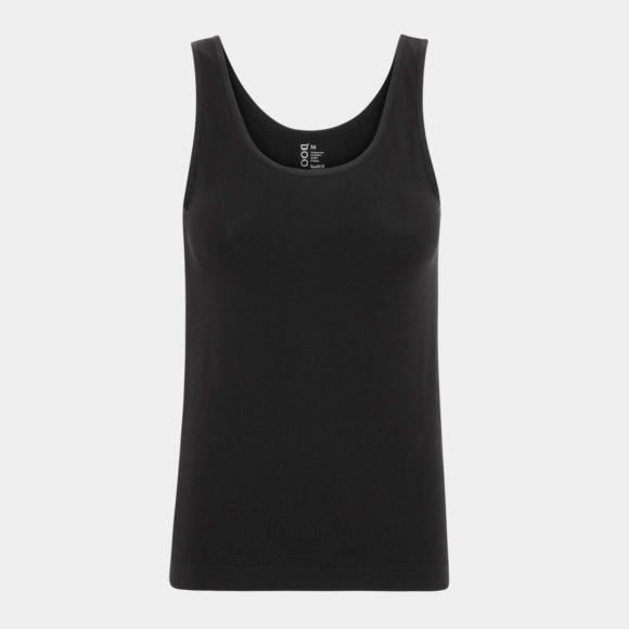 sort bambus tank top